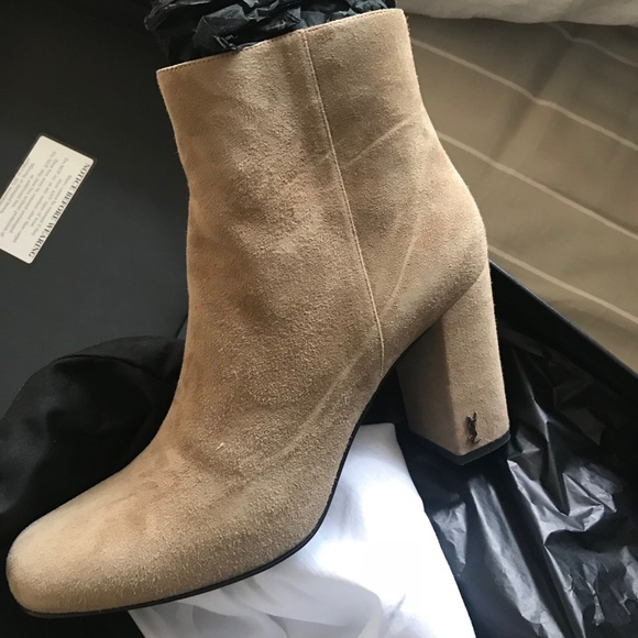 d10dd2def36 Yves Saint Laurent Shoes | Ysl Loulou Ankle Boot | Poshmark